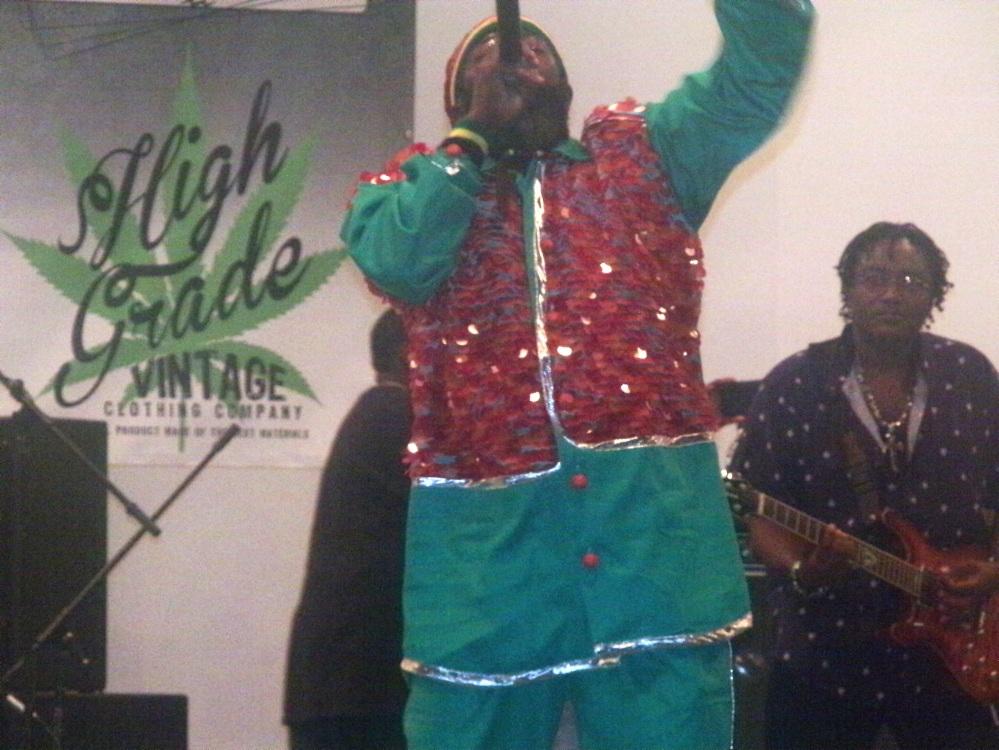 """Capleton performing """"Jah Jah City"""""""