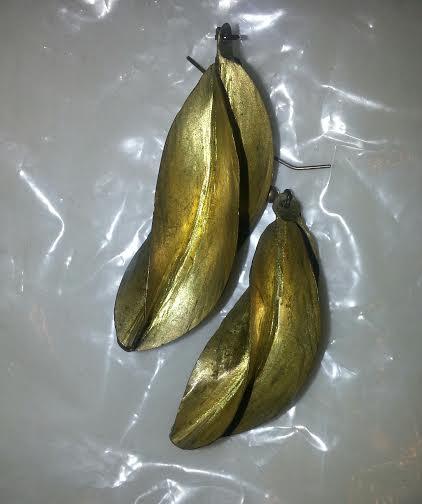 tarnished earrings