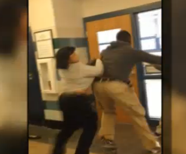 teacher fight