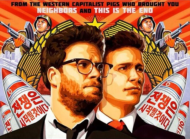 the-interview-movie-poster-wallpaper-seth-rogan-and-james-franco-get-berated-by-north-korea