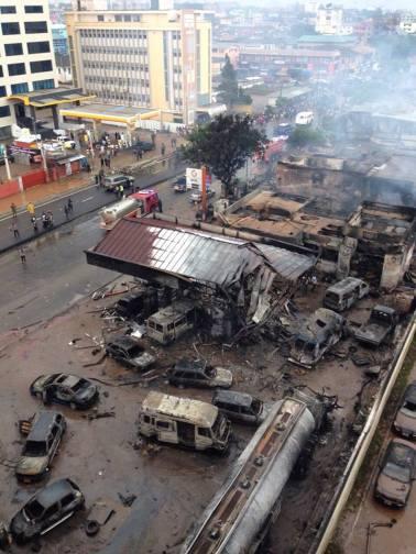 ghana blast