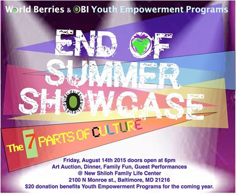 end of summer showcase
