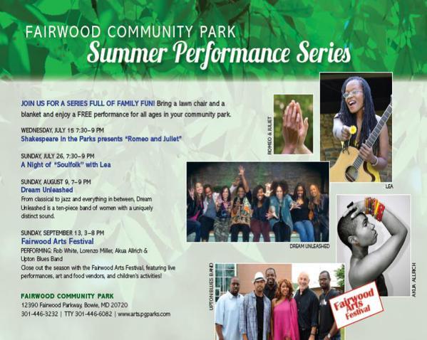 summer performance series